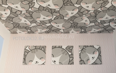 Купите у нас потолок в детскую с выгодой до 10000 рублей - акции студии Потолок32