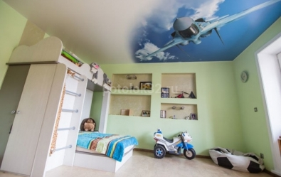 Лучшие потолки в детскую - статьи студии Потолок32