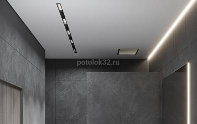 Трековый свет в натяжном потолке - новости студии Потолок32