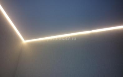 Примыкание потолка к стене - статьи студии Потолок32