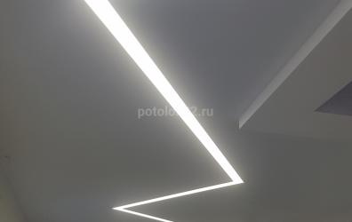 Линейный свет - работы студии Потолок32