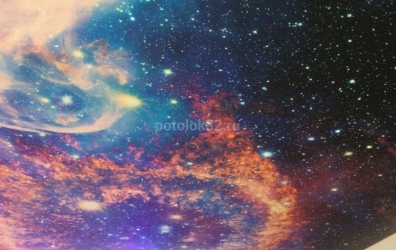 Звездное небо оптоволокно - работы студии Потолок32
