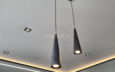 светильники для натяжного потолка - работы студии Потолок32