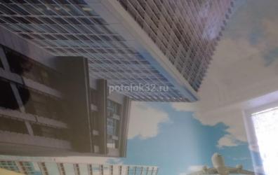 Фотопечать на глянцевом потолке в детской - работы студии Потолок32