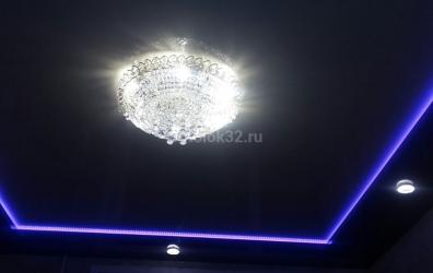 парящий потолок с подсветкой - работы студии Потолок32