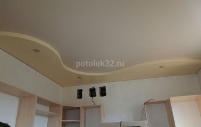 песочный натяжной потолок - работы студии Потолок32
